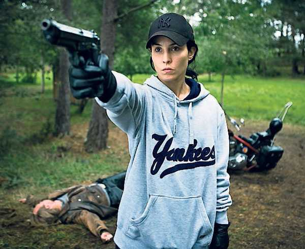 "Succé Noomi Rapace gjorde succé som Lisbeth Salander i ""Millennium""-trilogin."