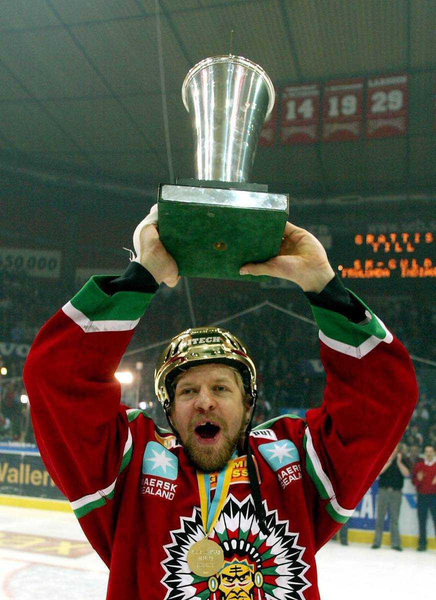 Hälften av alla spelarna i Växjö har stått som vinnare vid tidigare tillfällen. Tomi Kallio vann SM-guld med Frölunda både 2003 (bilden) och 2005.