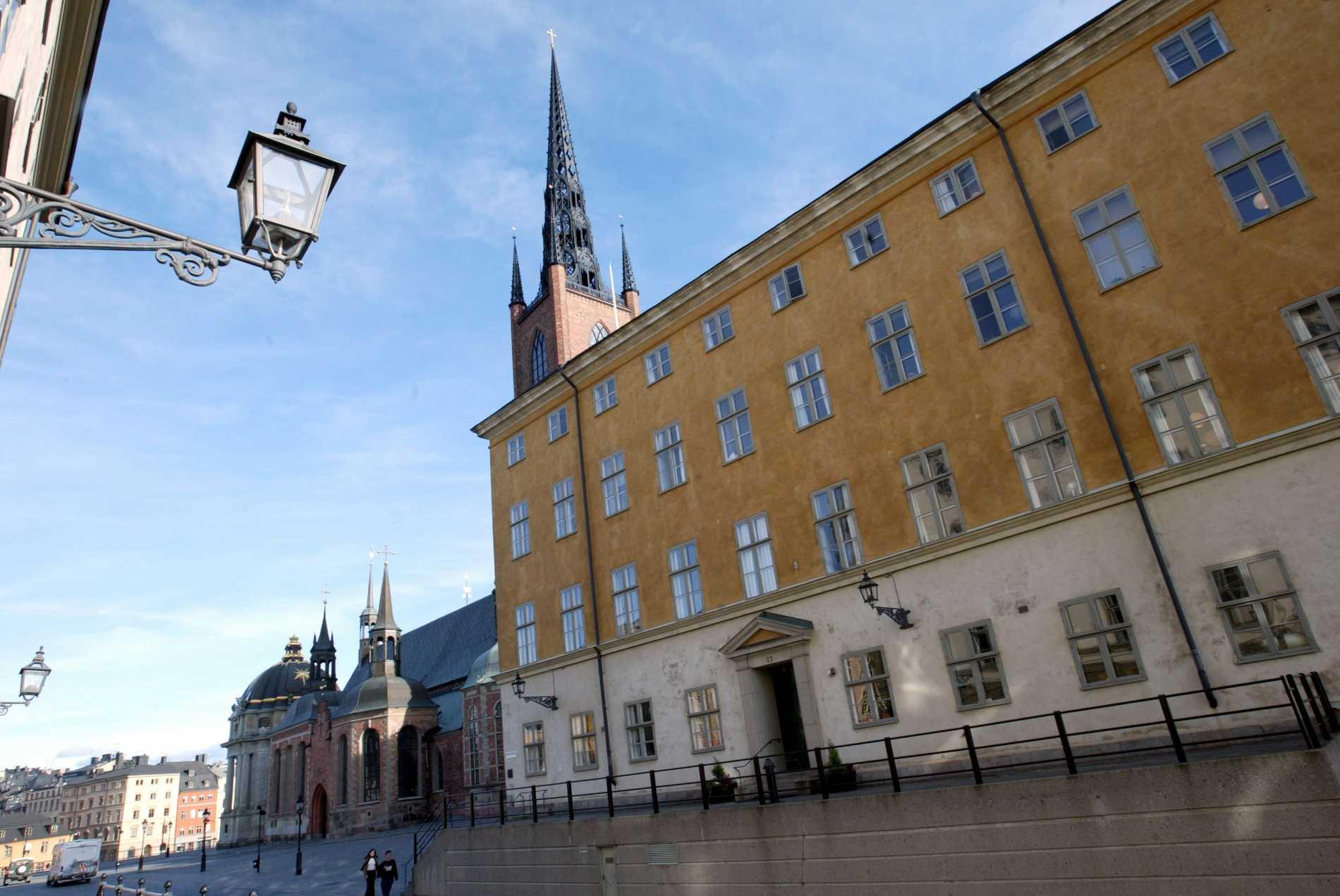 Migrationsöverdomstolen bedömer att en man kan vägras flyktingstatus efter att ha begått en våldtäkt. Domstolen sitter i kammarrätten i Stockholm. Arkivbild.