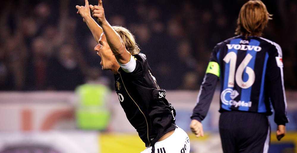 Daniel Tjernström har gjort mål i tvillingderbyt mot Djurgården 2006.