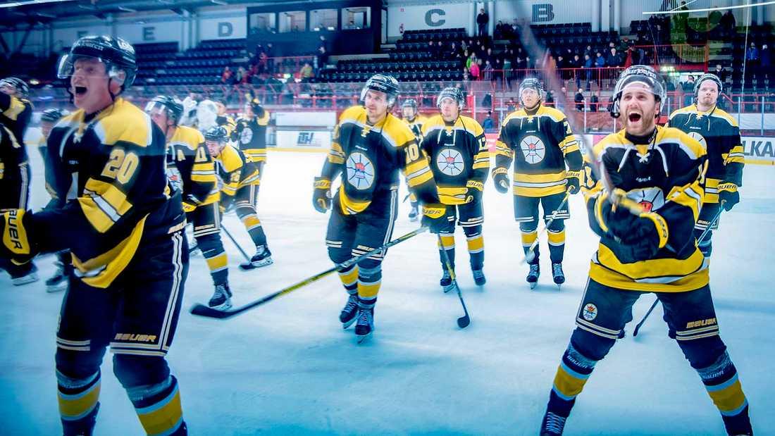 Kiruna AIF vann tidigare i veckan mot Kiruna IF i det första derbyt på 32 år.