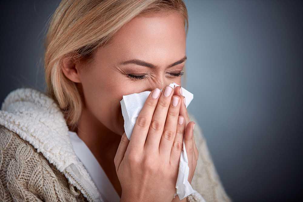 förkylning eller allergi