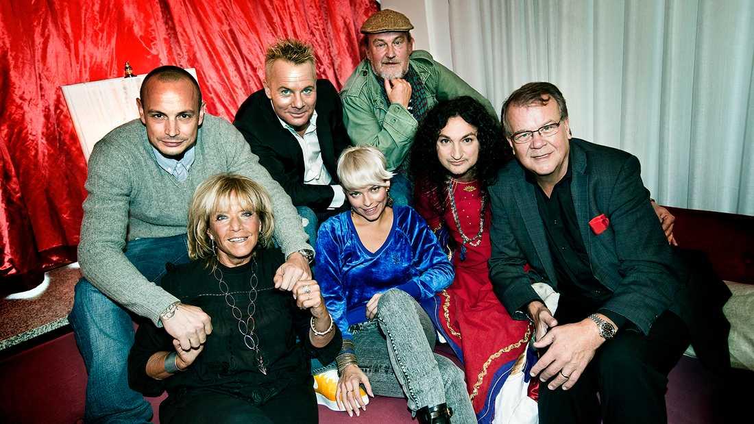 """Petra Marklund var med i den första säsongen av """"Så mycket bättre"""" 2010, då ihop med Petter, Barbro """"Lill-Babs"""" Svensson, Christer Sandelin, Plura Jonsson, Thomas Di Leva och Lasse Berghagen."""