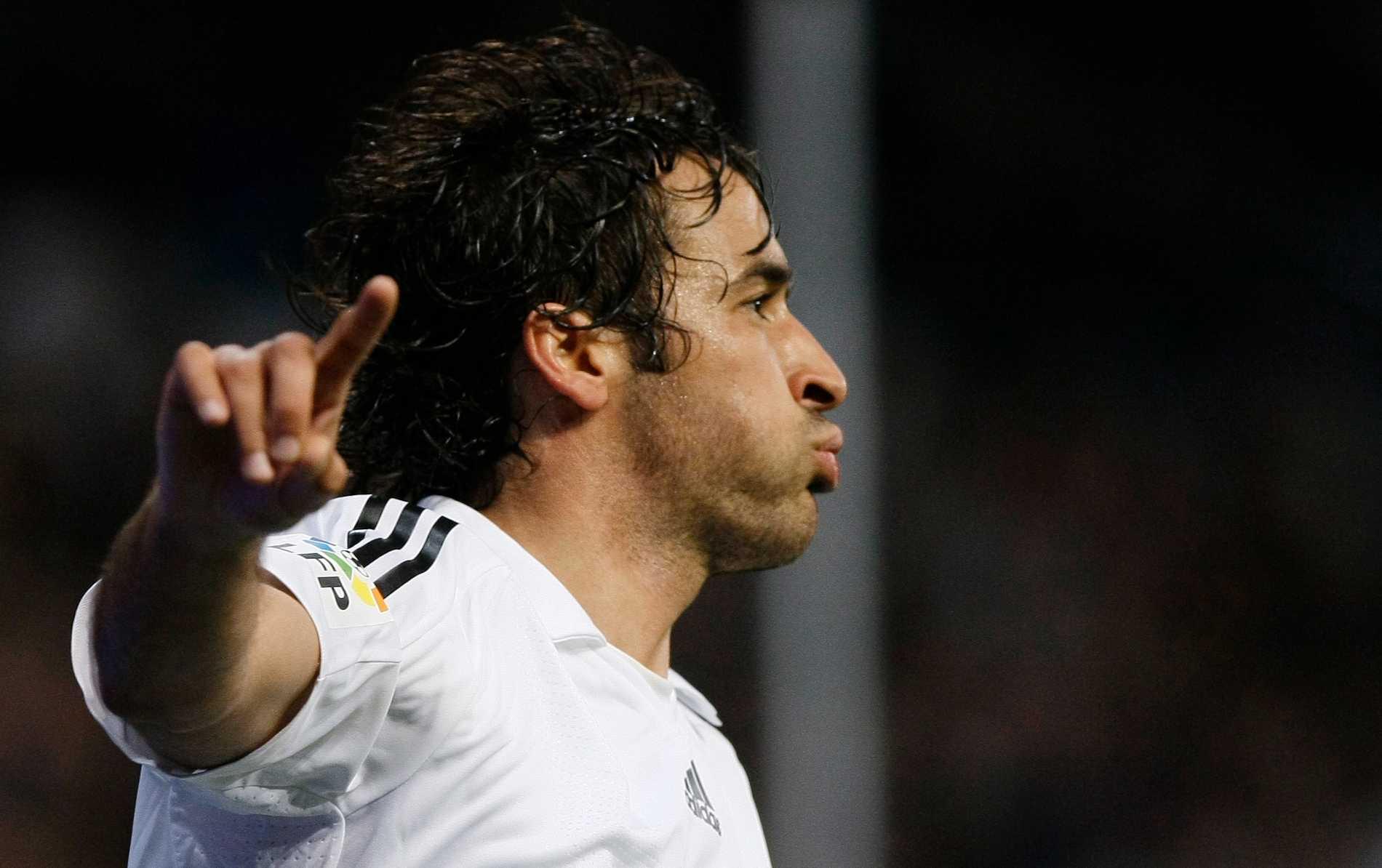 Raul gjorde två mål.