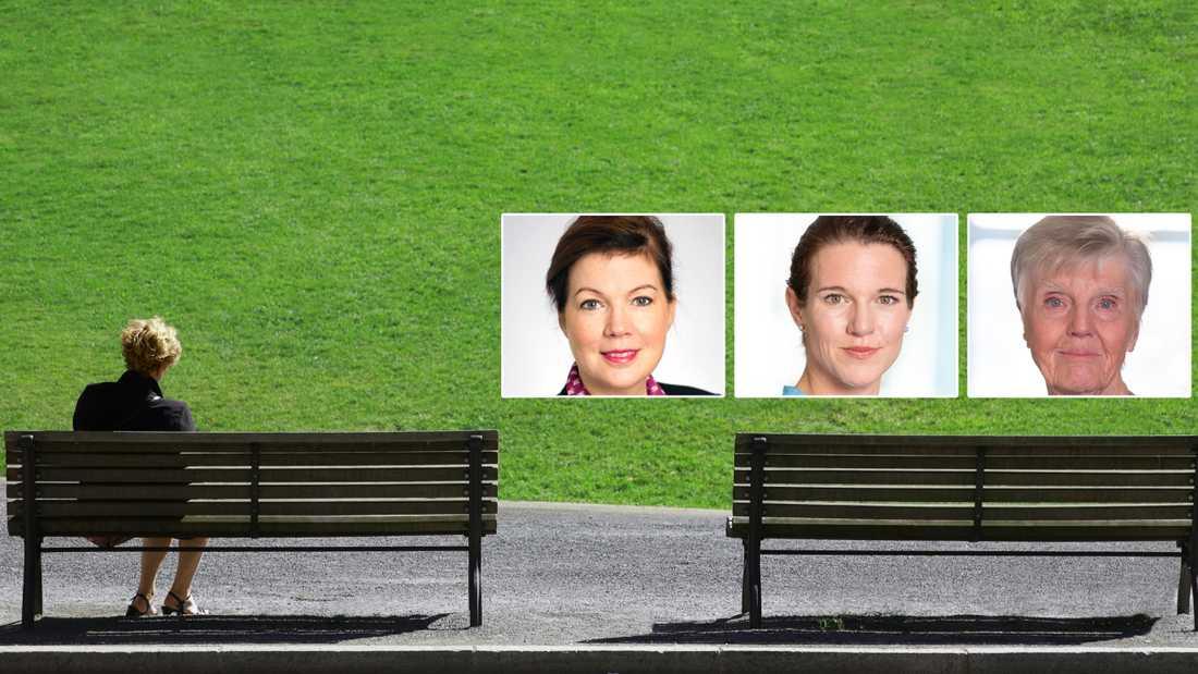 Social isolering är ett problem som kräver politiska svar. Långtifrån allt görs med lagar och offentliga insatser – men vi kan tillsammans starta ett samtal, skriver Anna Starbrink, Lina Nordquist och Barbro Westerholm (L).