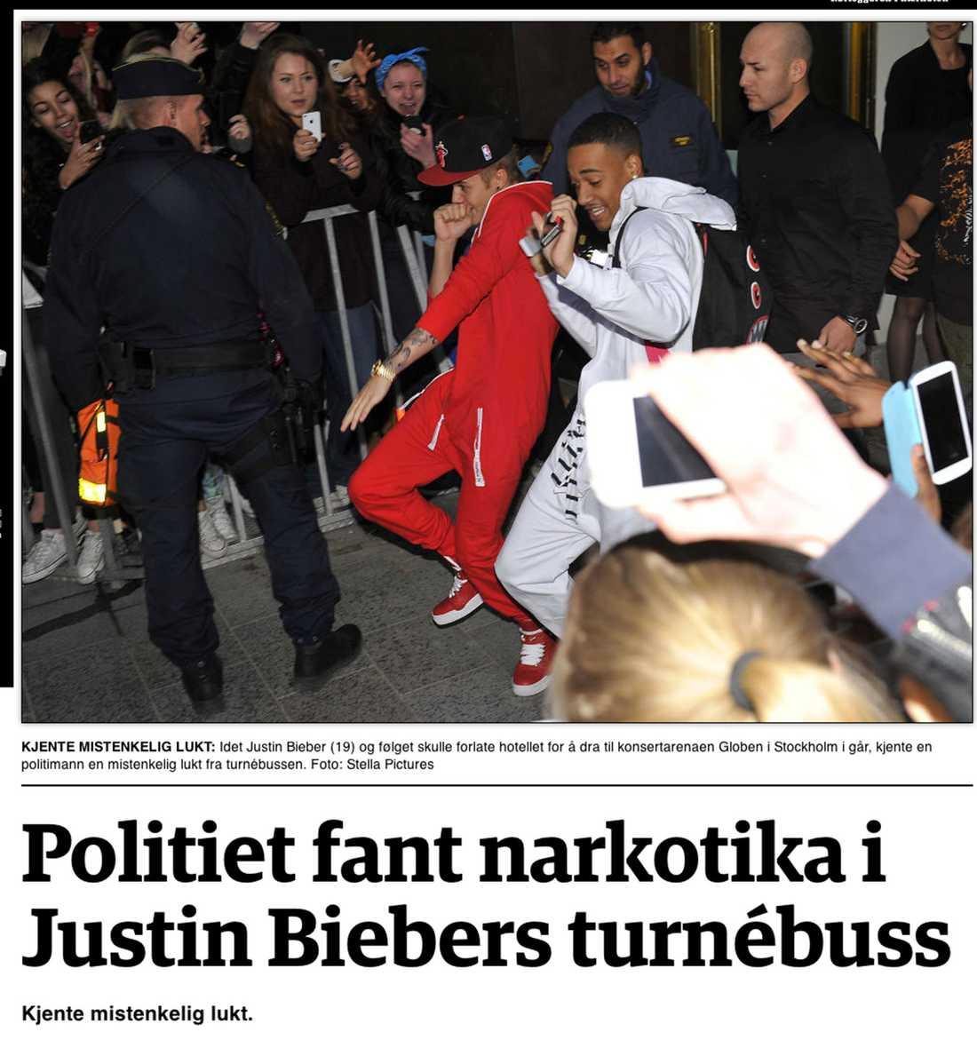 Norska Dagbladet.