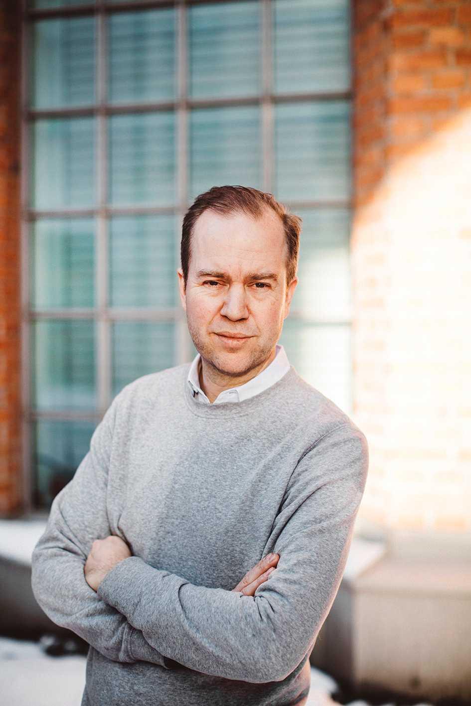 Olle Lidbom, medieanalytiker. Pressbild.