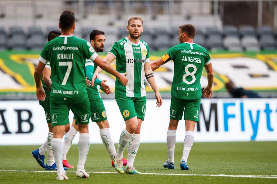 Darijan Bojanic (m) det enda osäkra kortet i Bajen-elven mot AIK.