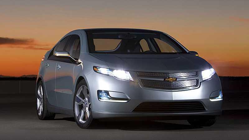 Chevrolet Volt väntas bli den stora folkbilen bland elbilarna i USA.