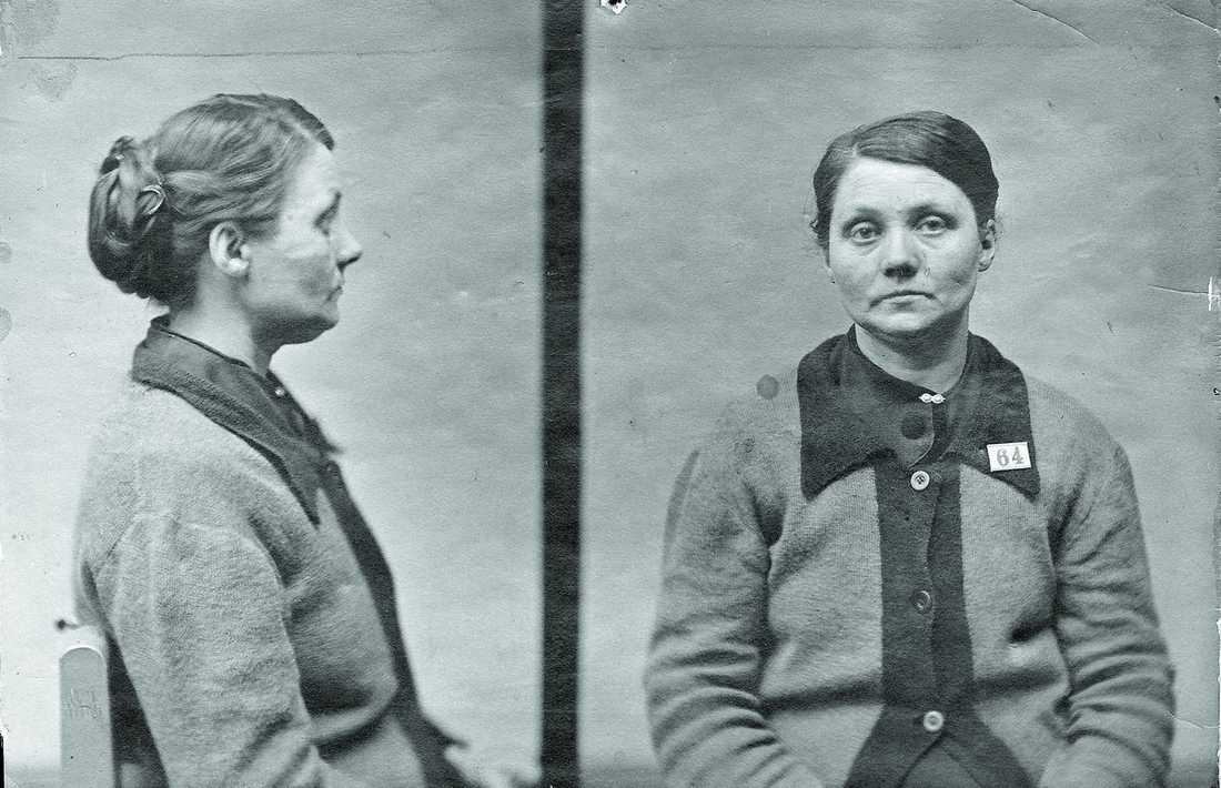 Hilda Nilsson var 41 år gammal när det avslöjades att hon tagit livet av åtta barn.
