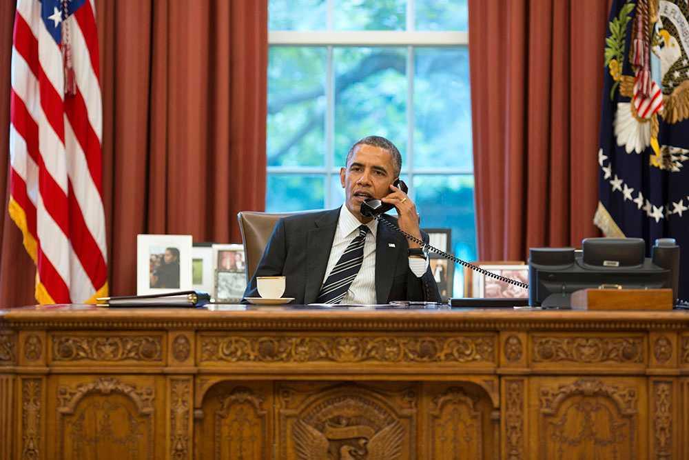 Obama pratar med Rouhani Den 21 november pratade USA:s president Barack Obama med Irans president Hassan Rouhani om avtalet man ville få på plats.
