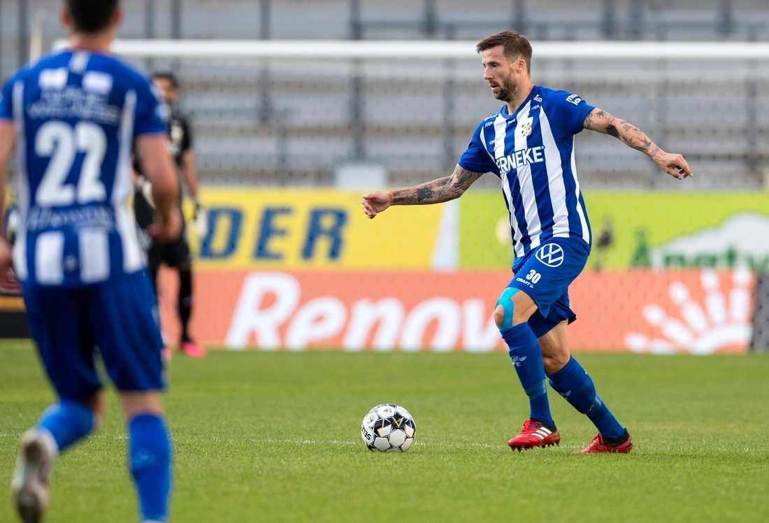 IFK Göteborgs Mattias Bjärsmyr har testat positivt för covid-19. Arkivbild.
