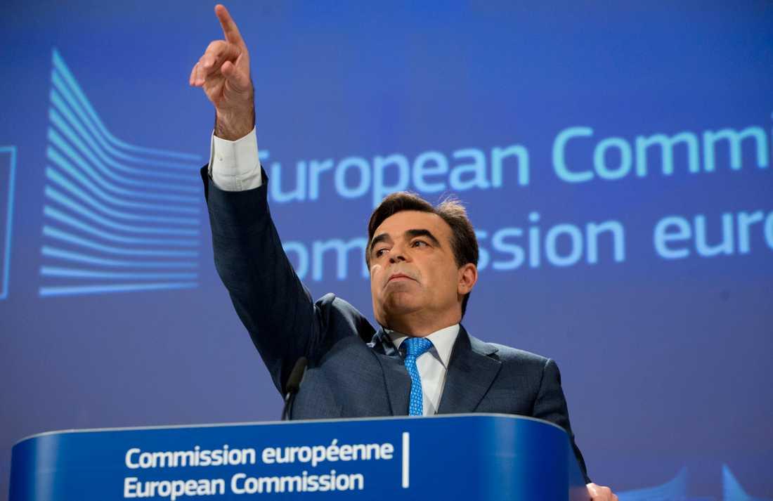 EU-kommissionens chefstalesman Margaritis Schinas har nominerats som Greklands ledamot i nästa EU-kommission. Arkivfoto.