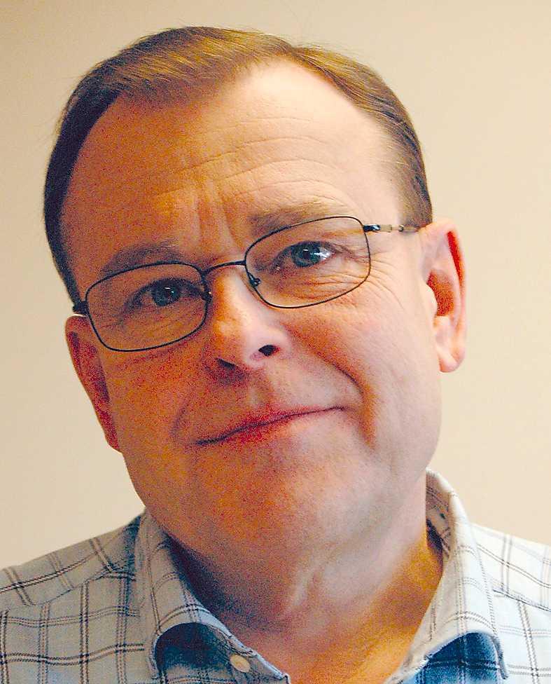"""Lars Rothelius är chefredaktör för """"Proletären"""", organ för Kommunistiska partiet."""