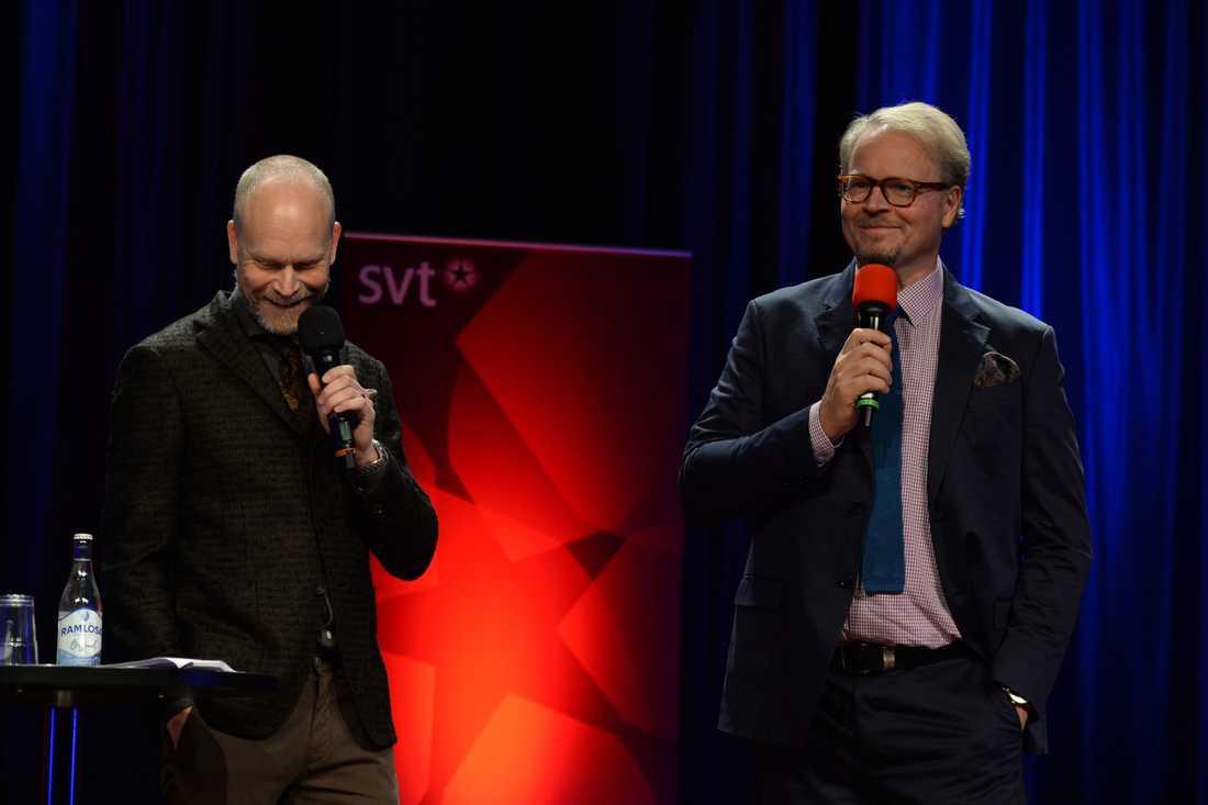 Kristian Luuk och Fredrik Lindström