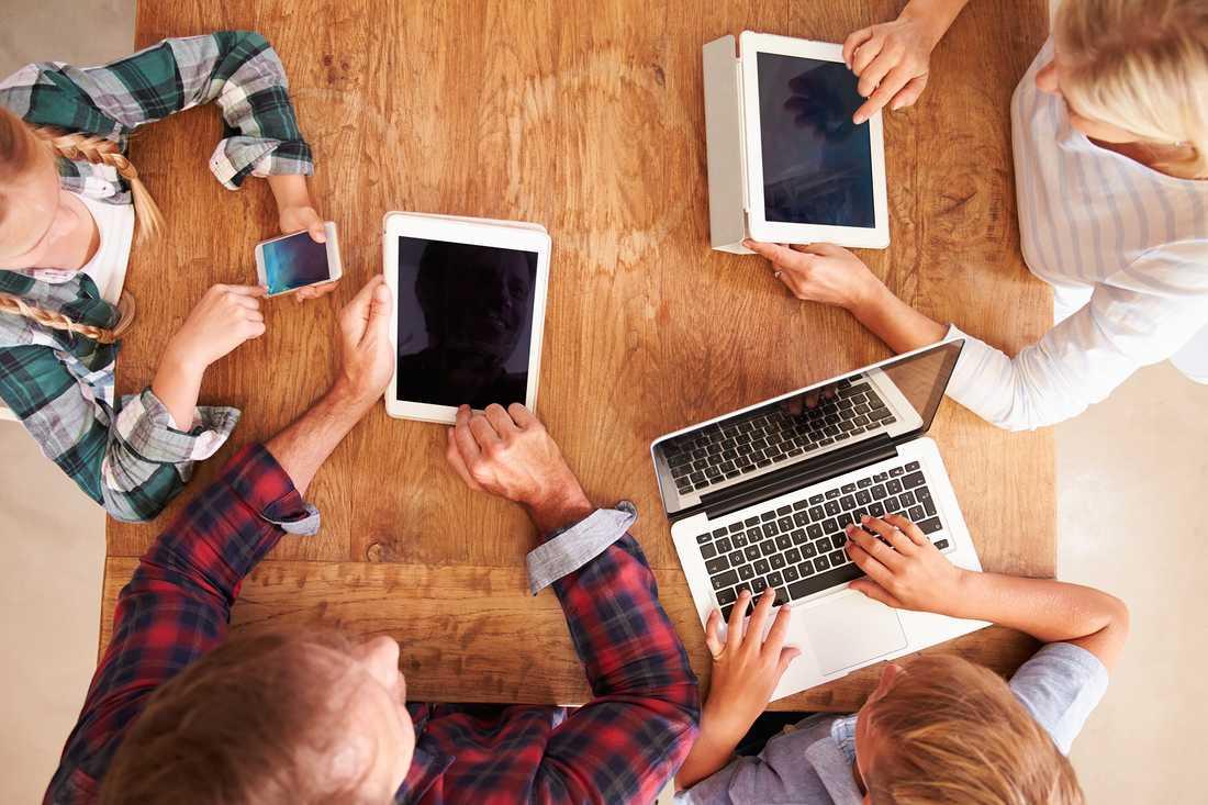 Idag har 98 procent av svenskarna tillgång till internet i sitt hushåll.