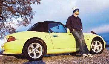 BMW Z3 är lyx, men det går att köpa begagnat för 90 000 kronor.