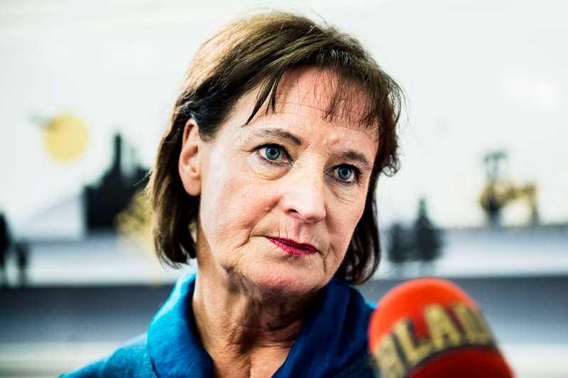 Kommunals Annelie Nordström avgick som ordförande.
