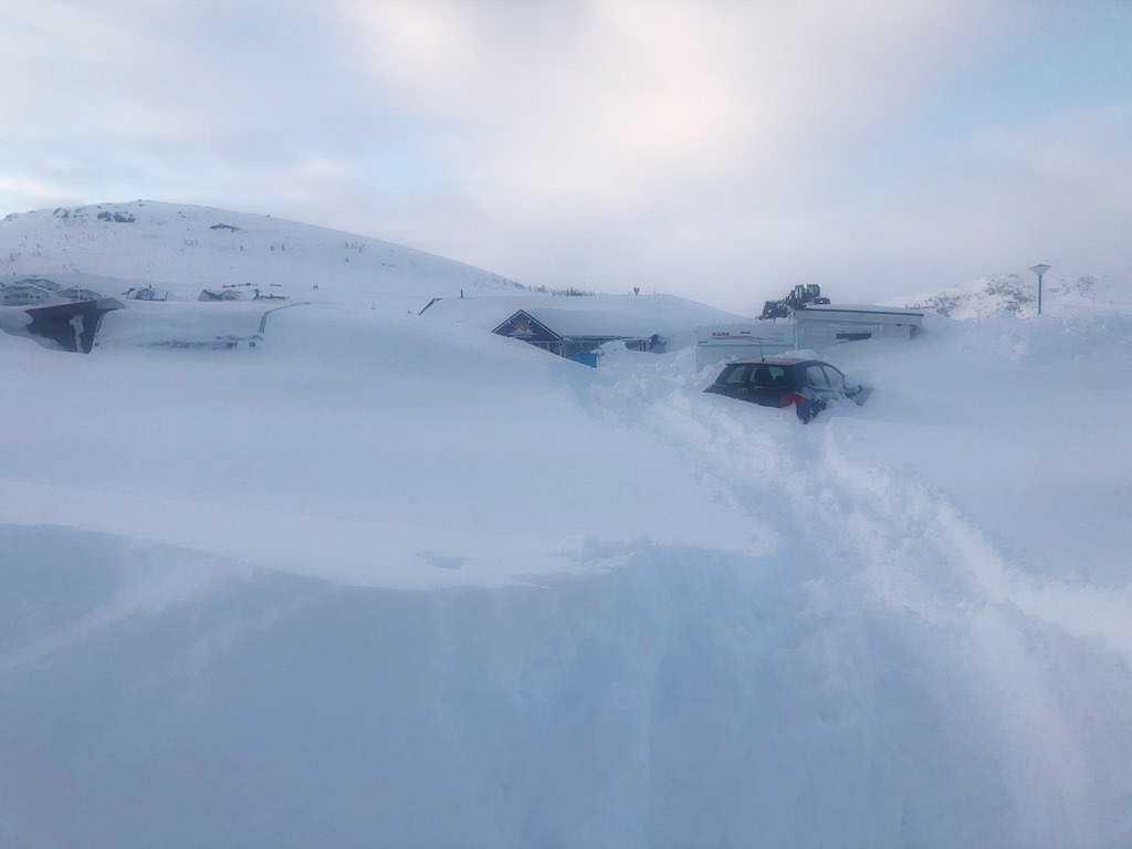 Årets snörekord har slagits i Riksgränsen.