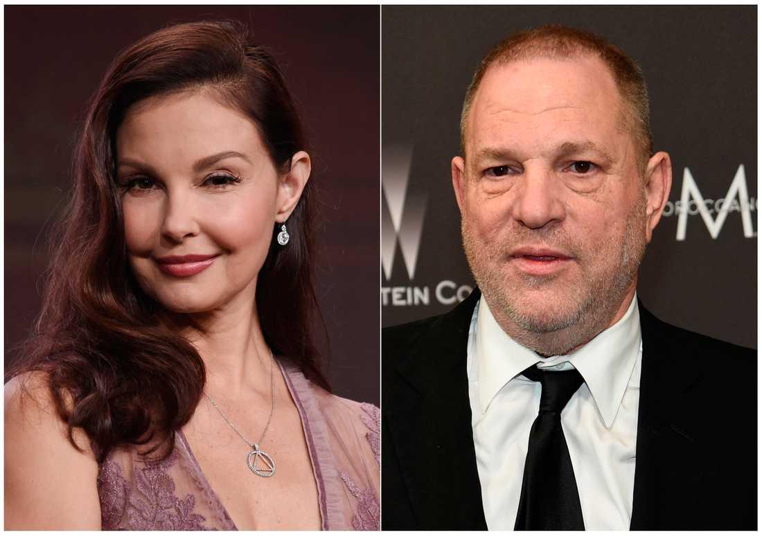 Ashley Judd kan gå vidare med sin stämning mot Harvey Weinstein. Arkivbild.