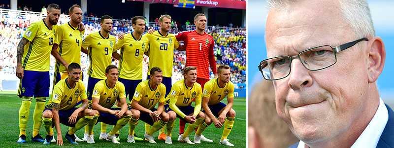 Janne Andersson gör en ändring i den svenska startelvan.