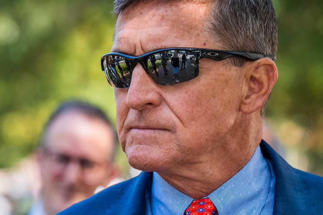 USA:s tidigare nationelle säkerhetsrådgivare Michael Flynn. Arkivbild.