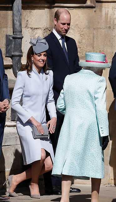 Prins William och hans fru Kate.