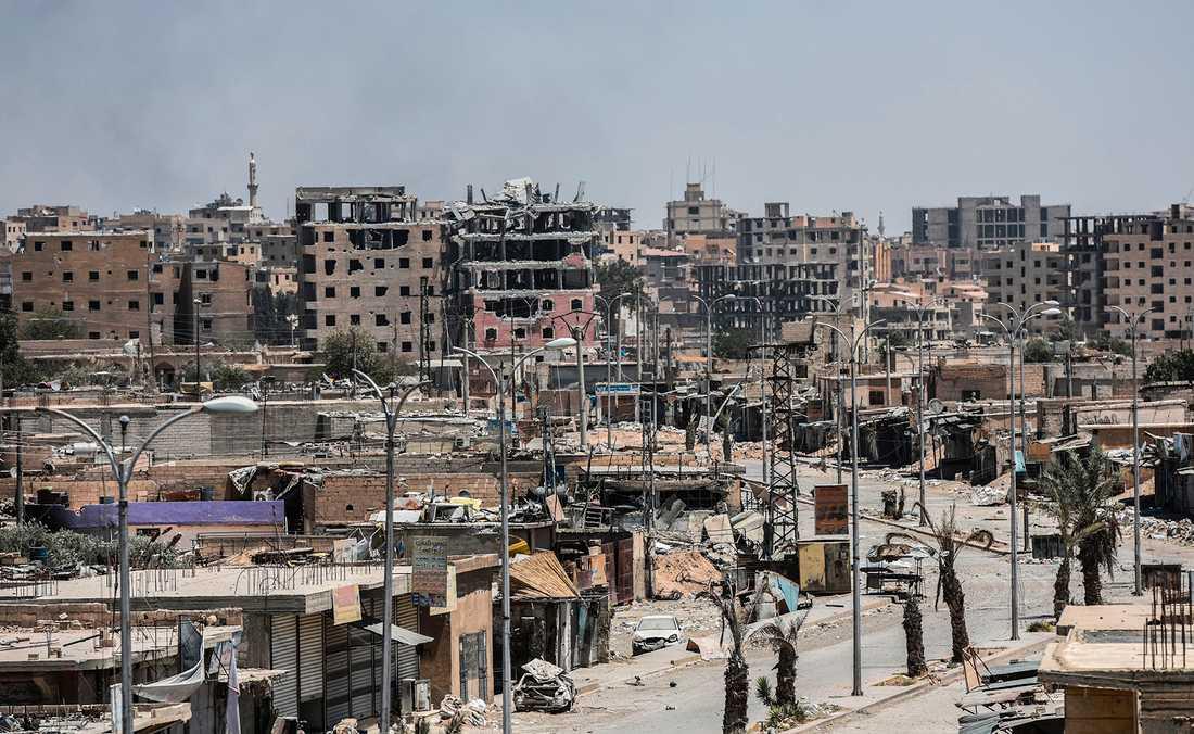 Raqqa 2017 är nära att befrias - som en stad i ruiner.