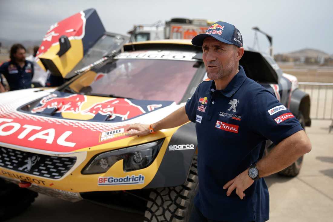 Peterhansel var besviken efter första etappen av Dakarrallyt