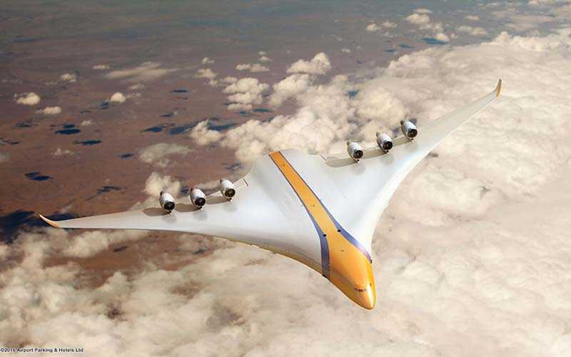 Framtidens flygplan kommer vara både bredare och ha större vingar, och ha plats för upp till 1 000 passagerare