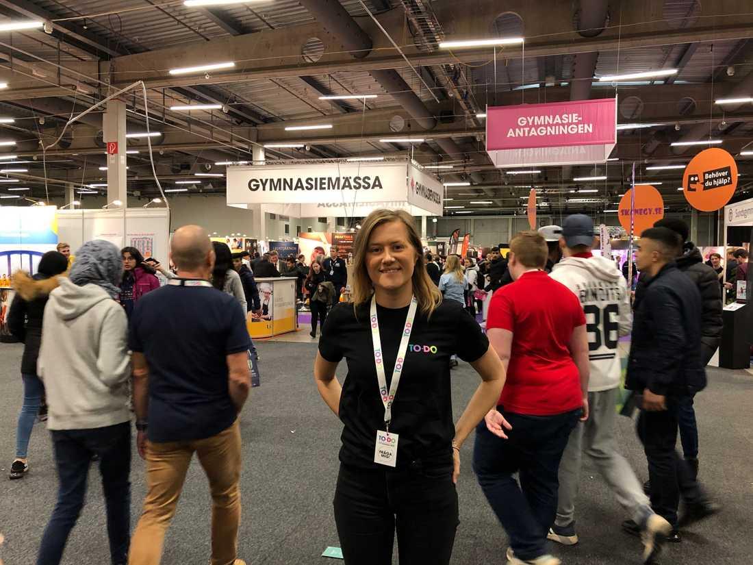 Emma Mattisson är huvudprojektledare för mässan.