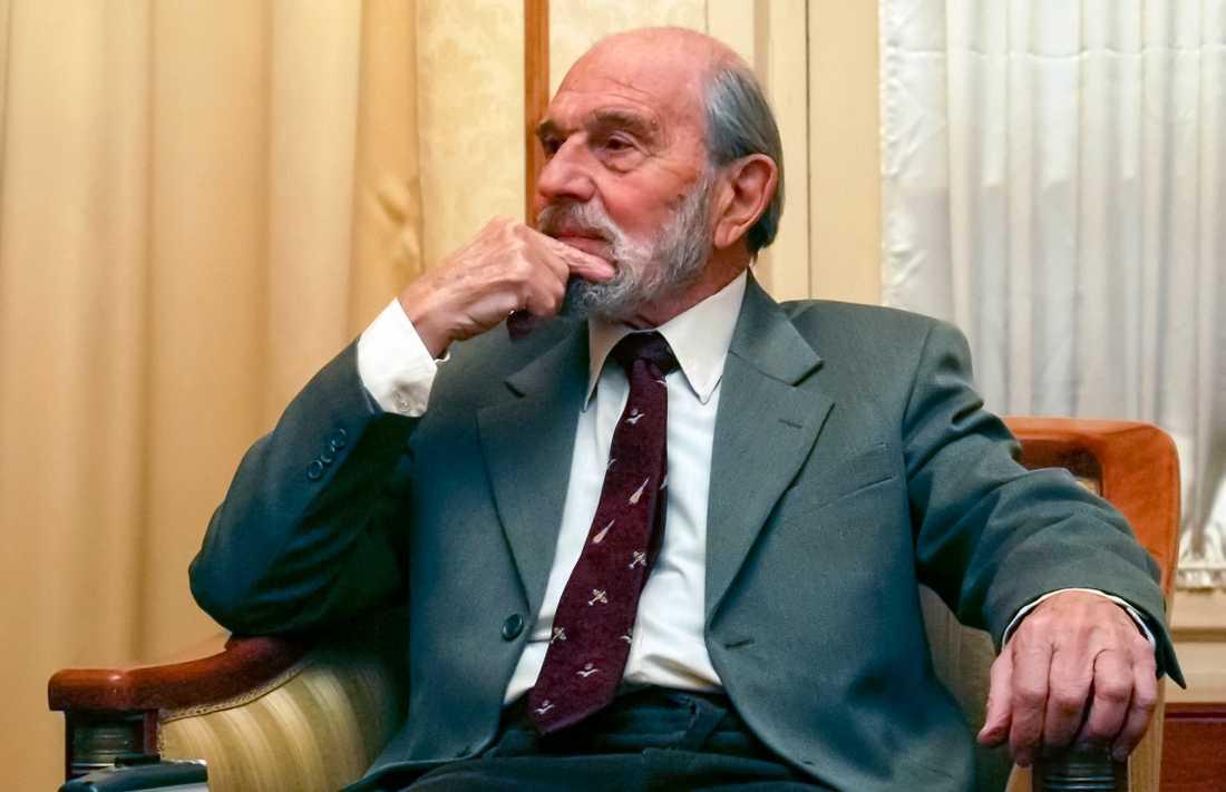 Ο μεγάλος κατάσκοπος Τζορτζ Μπλέικ το 2006 στη Ρωσία, όπου διέφυγε 40 χρόνια νωρίτερα.  Τώρα είναι νεκρός.  Φωτογραφία αποθεμάτων.