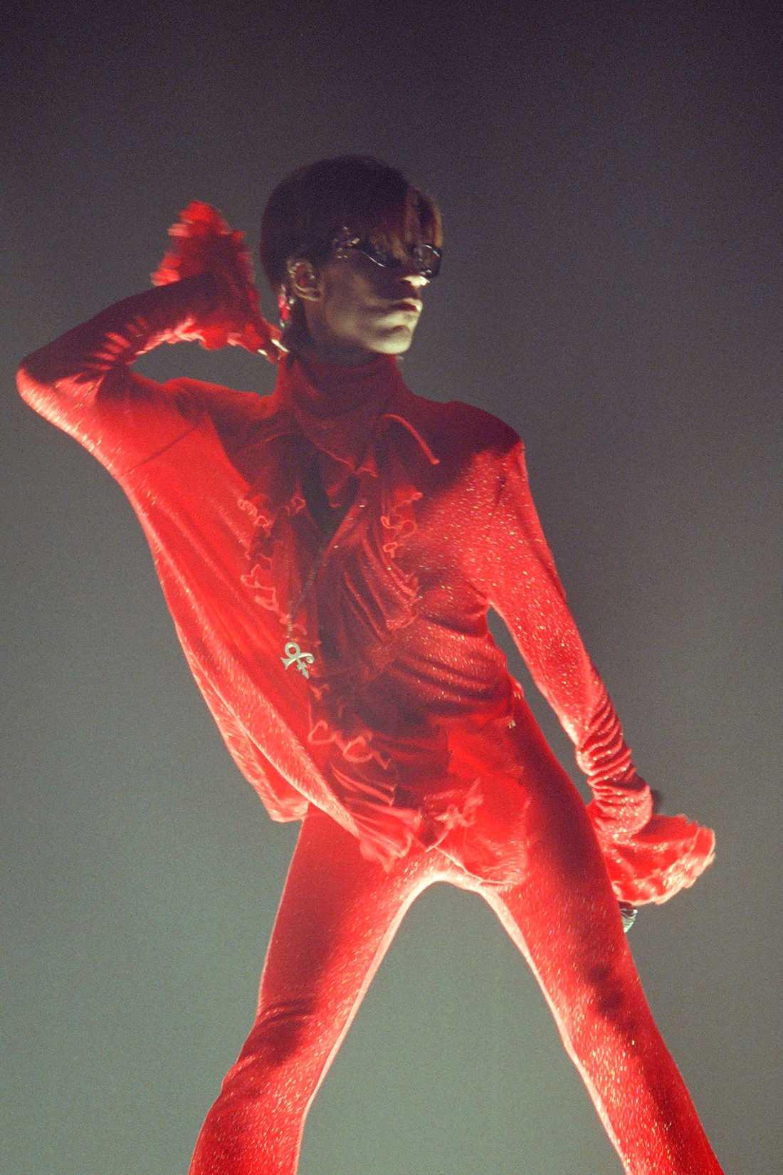Prince i Pariskonsert 1998.