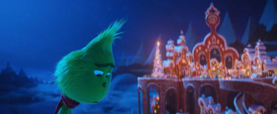 Ensamme Grinchen vill förstöra andras julglädje.
