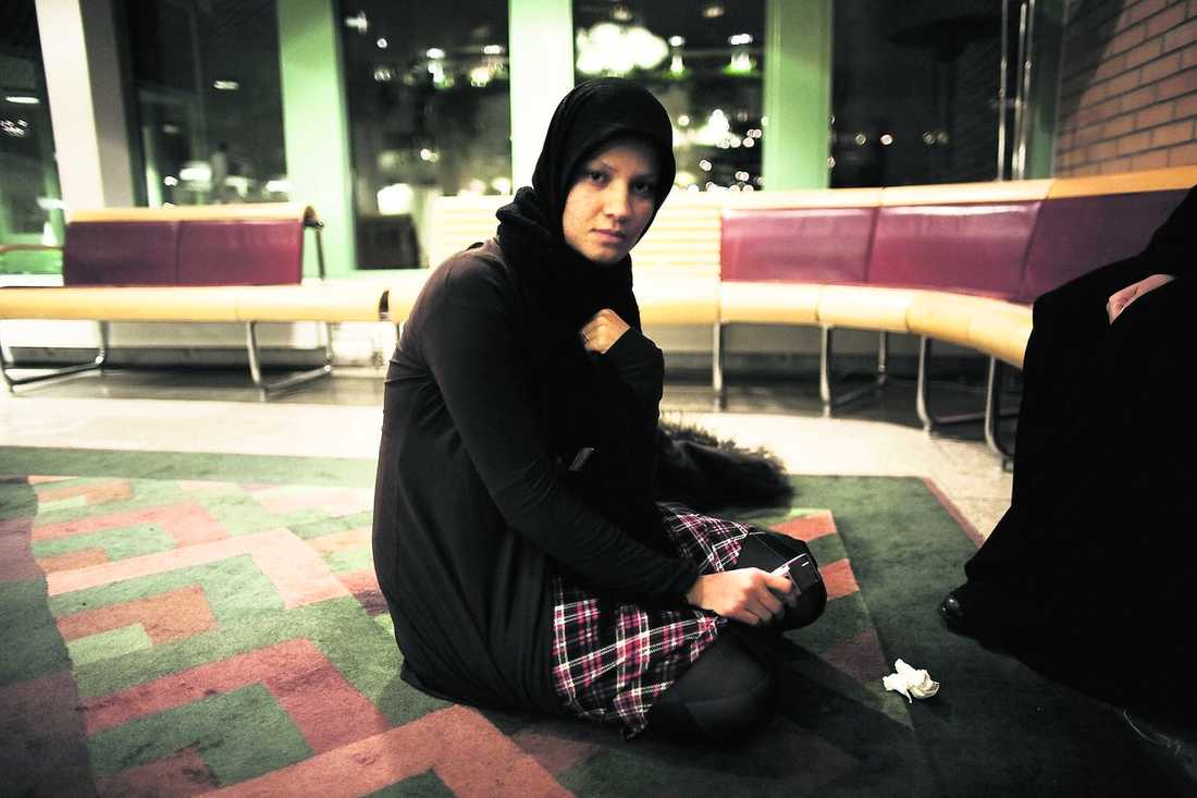 Den försvunna Maryams mamma Wafaa.