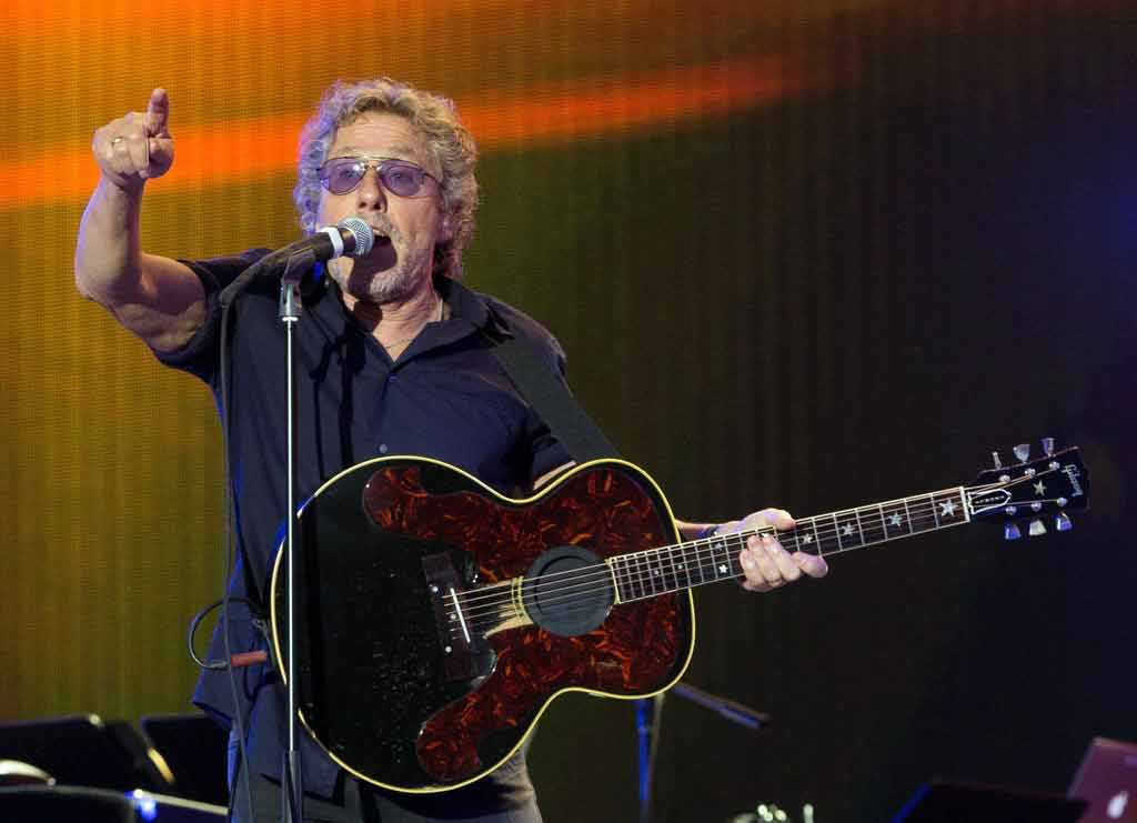 Roger Daltrey från bandet The Who.