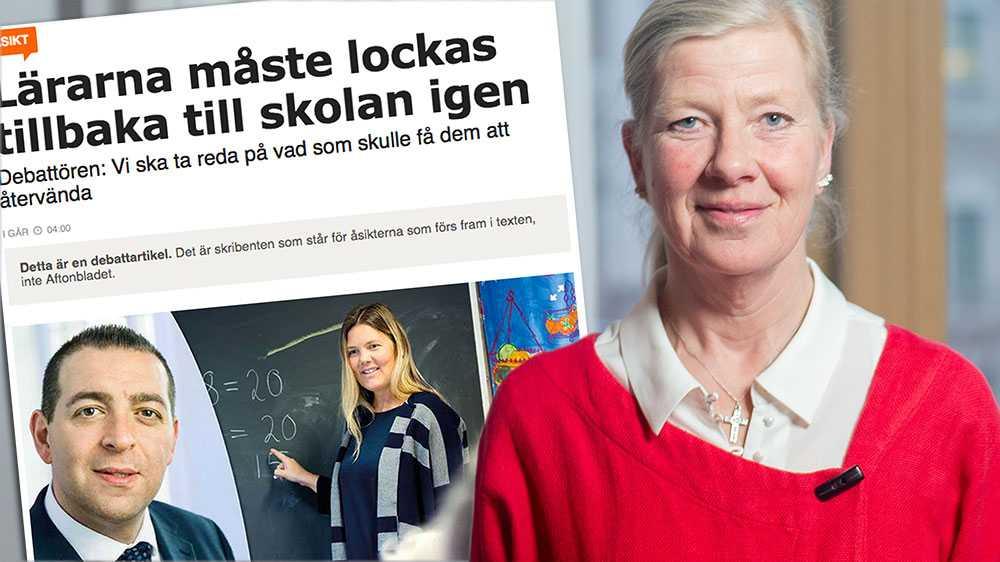 Liberalerna och Roger Haddad är ansvariga för att den S-ledda regeringen får fortsätta att bedriva en dålig skolpolitik. Därför är kritiken mot utbildningsminister Anna Ekström magstark, skriver Kristina Axén Olin (M).
