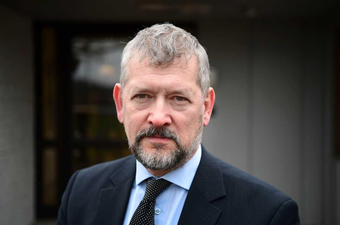 Kriminalvårdens generaldirektör Nils Öberg. Arkivbild.