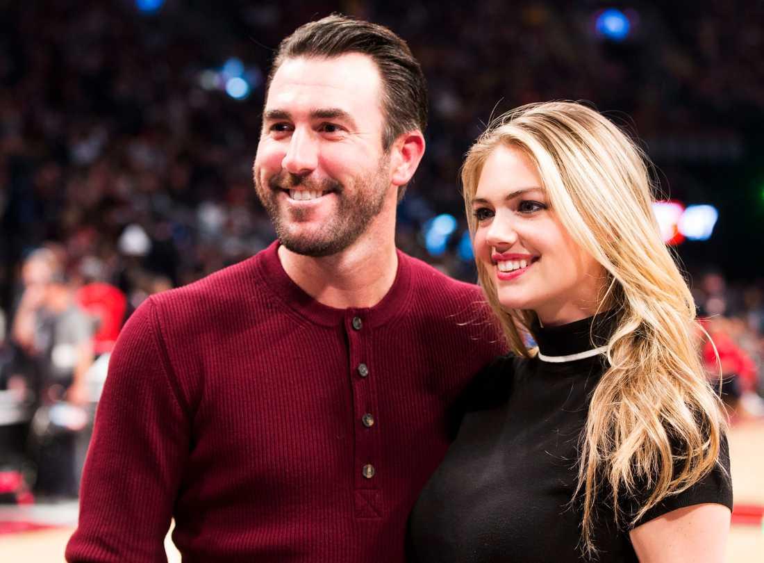 Justin Verlander och Kate Upton gifte sig för åtta månader sedan.