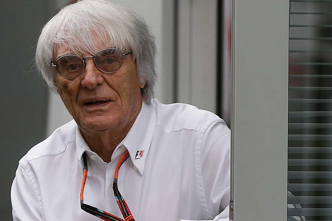 Bernie Ecclestone, 85, har tidigare uttalat sig kontroversiellt om bland annat invandrare. Han anser också att kvinnor inte har fysiken för som krävs för att bli F1-förare.
