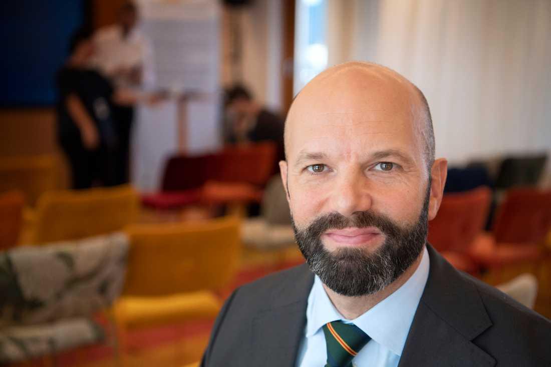 Mattias Dahl, vice vd på Svenskt Näringsliv, vill göra det lättare att säga upp personal. Arkivbild.