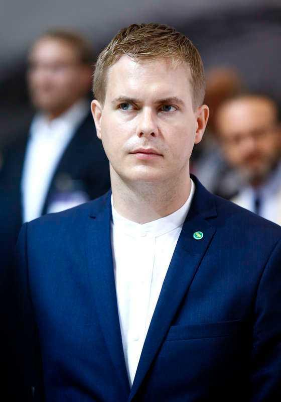 Gustav Fridolin (MP).