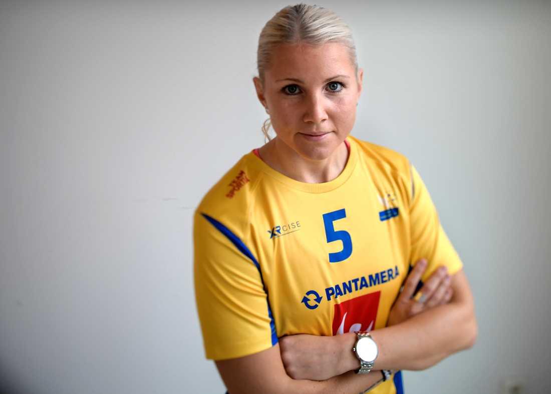 Innebandyspelaren Anna Wijk kan få en riktig drömsäsong innan hon avslutar karriären. Arkivbild.