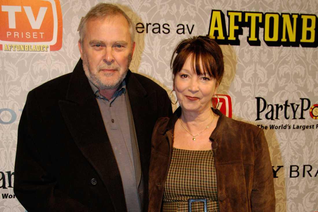 Bengt Magnusson tillsammans med hustrun Karin.