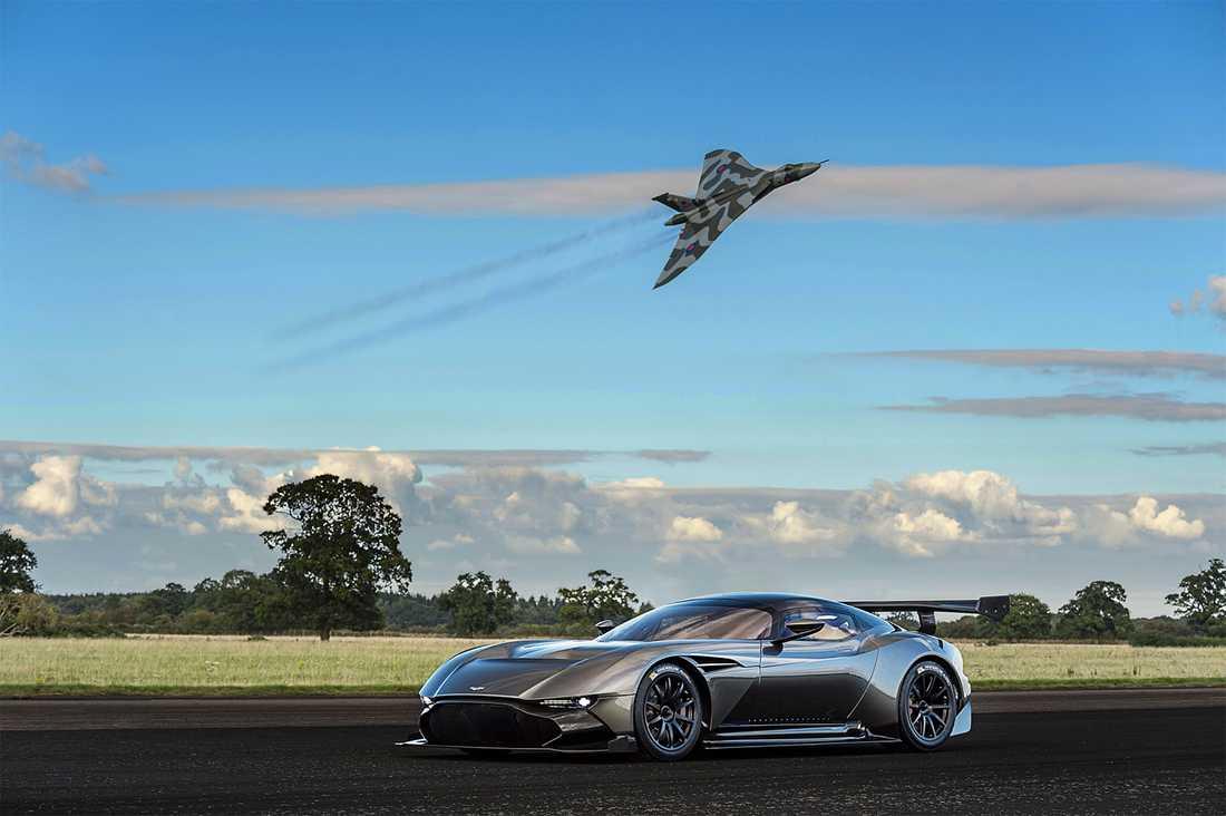 Aston Martins senaste racingmodell, Vulcan.