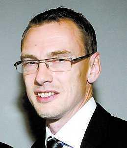 Tränaren Jonas Olsson.