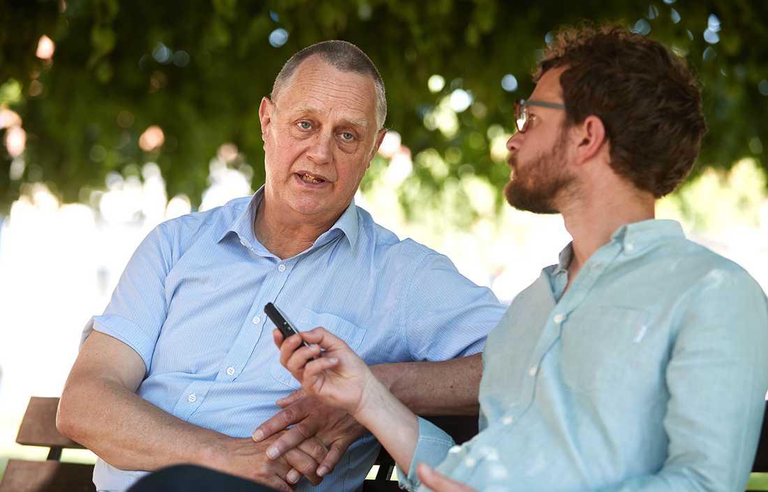 """""""Att bli största parti är minimimålet. Vi vill bli störst med råge"""", säger Stefan Borg, gruppledare för SD i Hörby."""