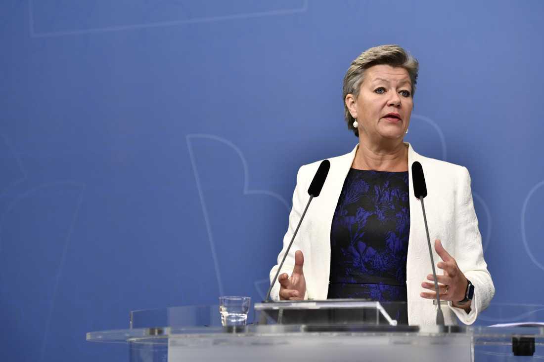 Arbetsmarknadsminister Ylva Johansson (S).Arkivbild.