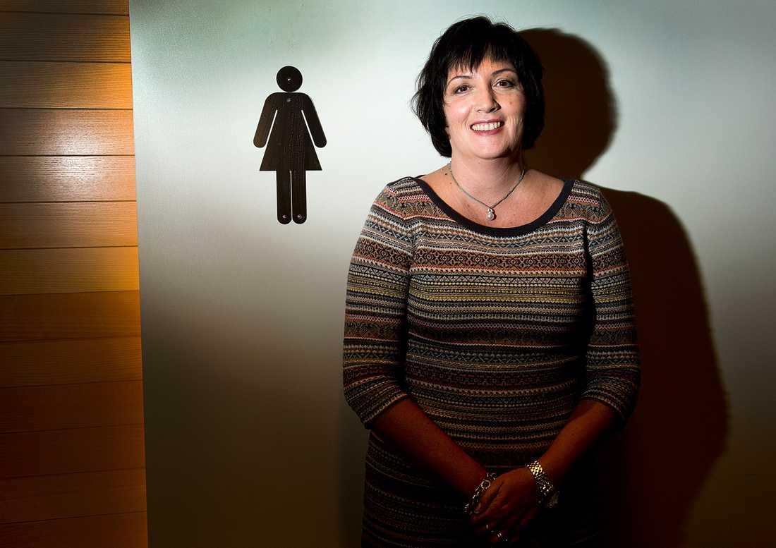 Näringslivets mäktigaste kvinna är Petra Einarsson, vd, Sandvik Materials Technology.