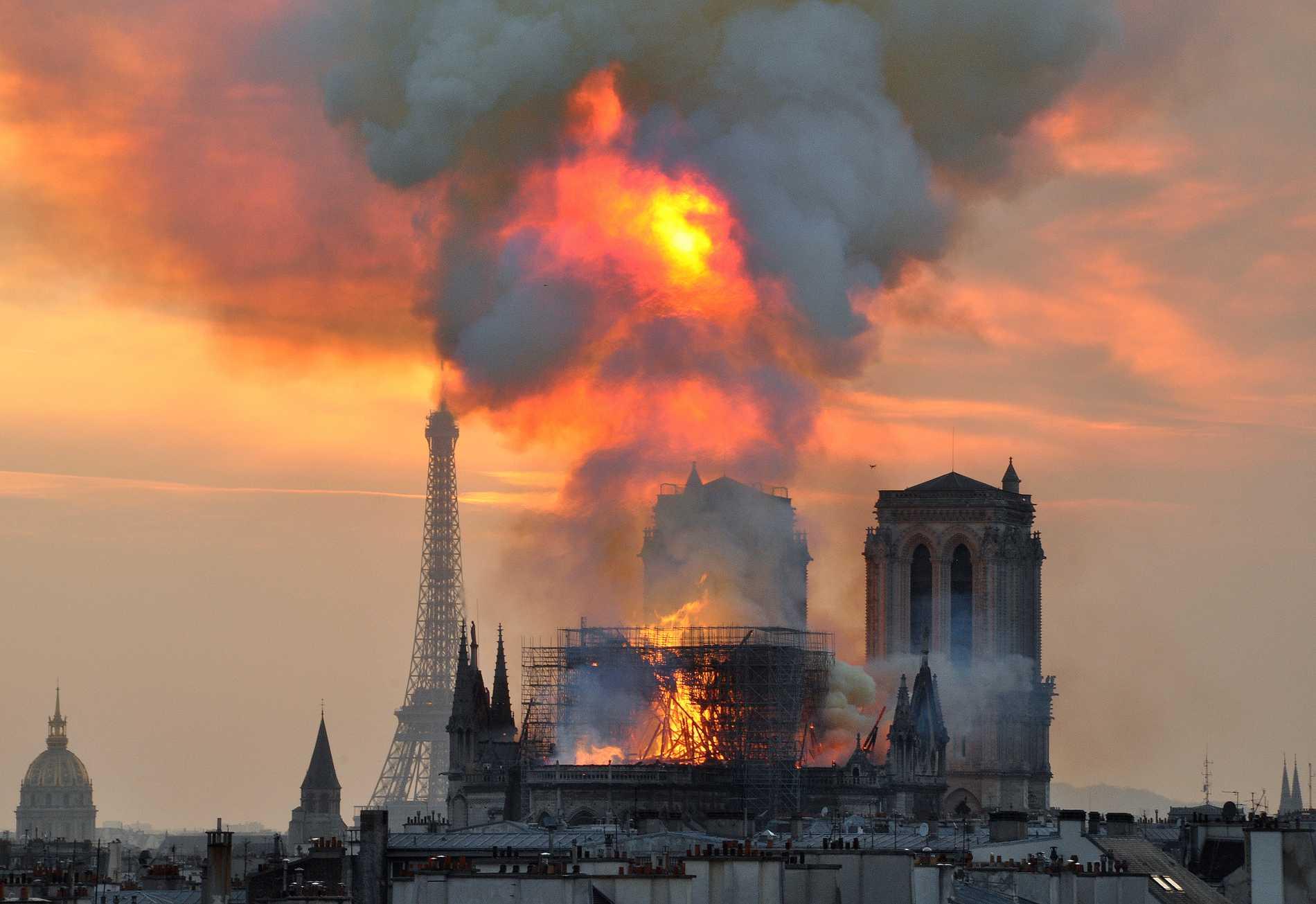 """Katedralen Notre-Dame brann, och romanen """"Ringaren i Notre Dame"""" seglade upp på försäljningslistans topp på franska Amazon."""